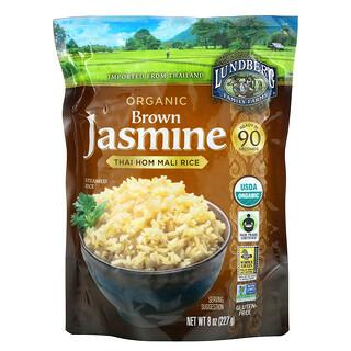 Lundberg, Organic Brown Jasmine, Thai Hom Mali Rice, 8 oz (227 g)
