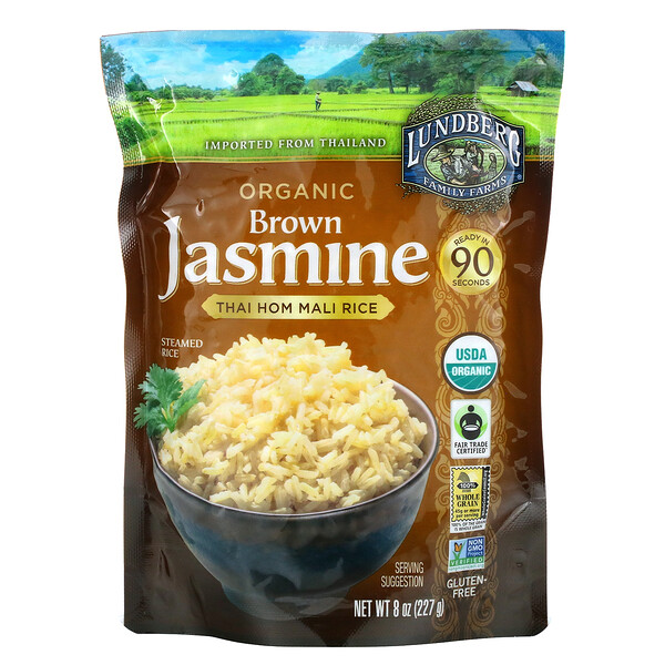 有機香糙米,泰國香米,8 盎司(227 克)