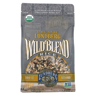 Lundberg, Organic Wild Blend Rice, 2 lb (907 g)
