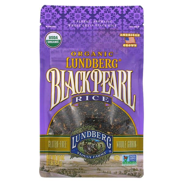 Organic, Black Pearl Rice, 1 lb (454 g)