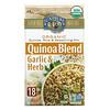 Lundberg, Organic Quinoa Blend, Rice and Seasoning Mix, Garlic & Herb, 5.5 oz (156 g)