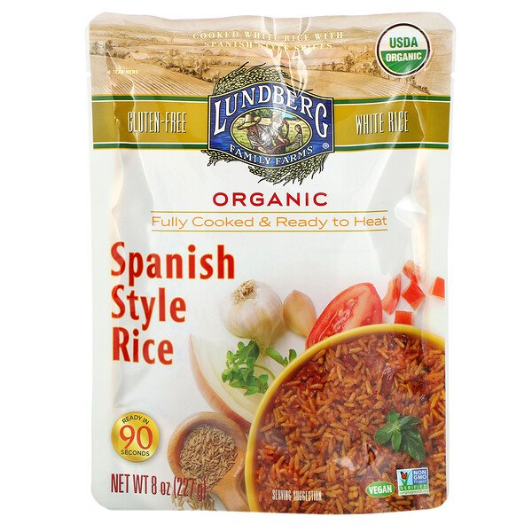 Organic Fully Cooked & Ready To Heat, Spanish Style Rice, 8 oz (227 g)