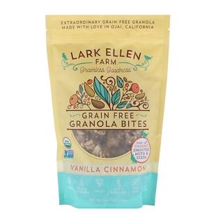 Lark Ellen Farm, Grain Free Granola Bites, Vanilla Cinnamon, 8 oz (227 g)