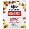 Little Secrets, Dark Chocolate Pieces, Peanut Butter, 12 Pack, 1.5 oz (42.5 g) Each