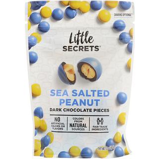 Little Secrets, Dark Chocolate Pieces, Sea Salted Peanut, 5 oz (142 g)