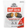 Little Secrets, Mini Crispy Wafers, Peanut Butter In Dark Chocolate, 10 Individually Wrapped, 3.5 oz (100 g)
