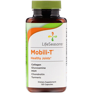 LifeSeasons, Mobili-T Healthy Joints, 120 Capsules