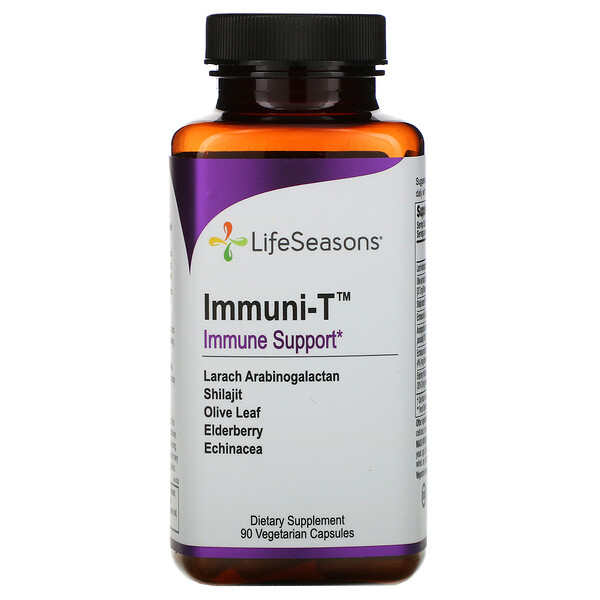 LifeSeasons, Immuni-T, 90 Vegetarian Capsules
