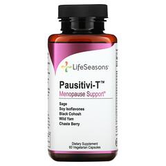 LifeSeasons, Pausitivi-T,更年期支持,60 粒素食膠囊