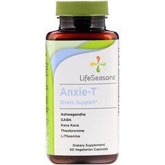LifeSeasons, Anxie-T 壓力支持配方,60 粒素食膠囊