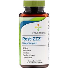 LifeSeasons, Rest-ZZZ 睡眠支持,60 粒素食膠囊
