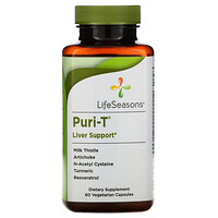 LifeSeasons, Puri-T, 60 Vegetarian Capsules