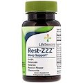 LifeSeasons, Rest-ZZZ Sleep Support, 14 Vegetarian Capsules