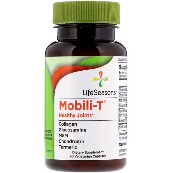 Mobili-T Healthy Joints, 20 Vegetarian Capsules