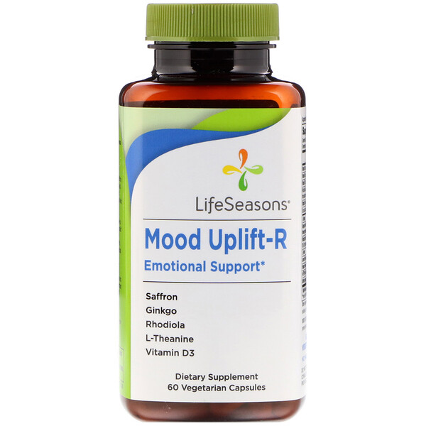 Mood Uplift-R Emotional Support, 60 Vegetarian Capsules