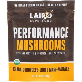 Laird Superfood, Performance Mushrooms, 3.17 oz (90 g)