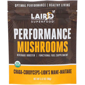 Laird Superfood, Performance Mushrooms, 3.17 oz (90 g) отзывы