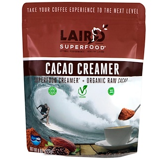 Laird Superfood, Cacao Creamer , 8 oz (227 g)