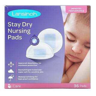Lansinoh, Stay Dry Nursing Pads, 36 Pads