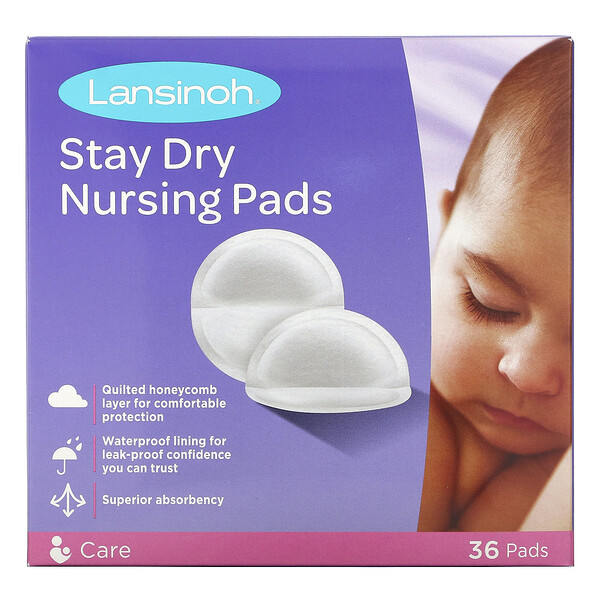 Stay Dry Nursing Pads, 36 Pads