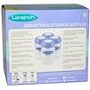 Lansinoh, Frascos para Armazenamento de Leite Materno, 4 Frascos, 5 oz (160 ml) Cada