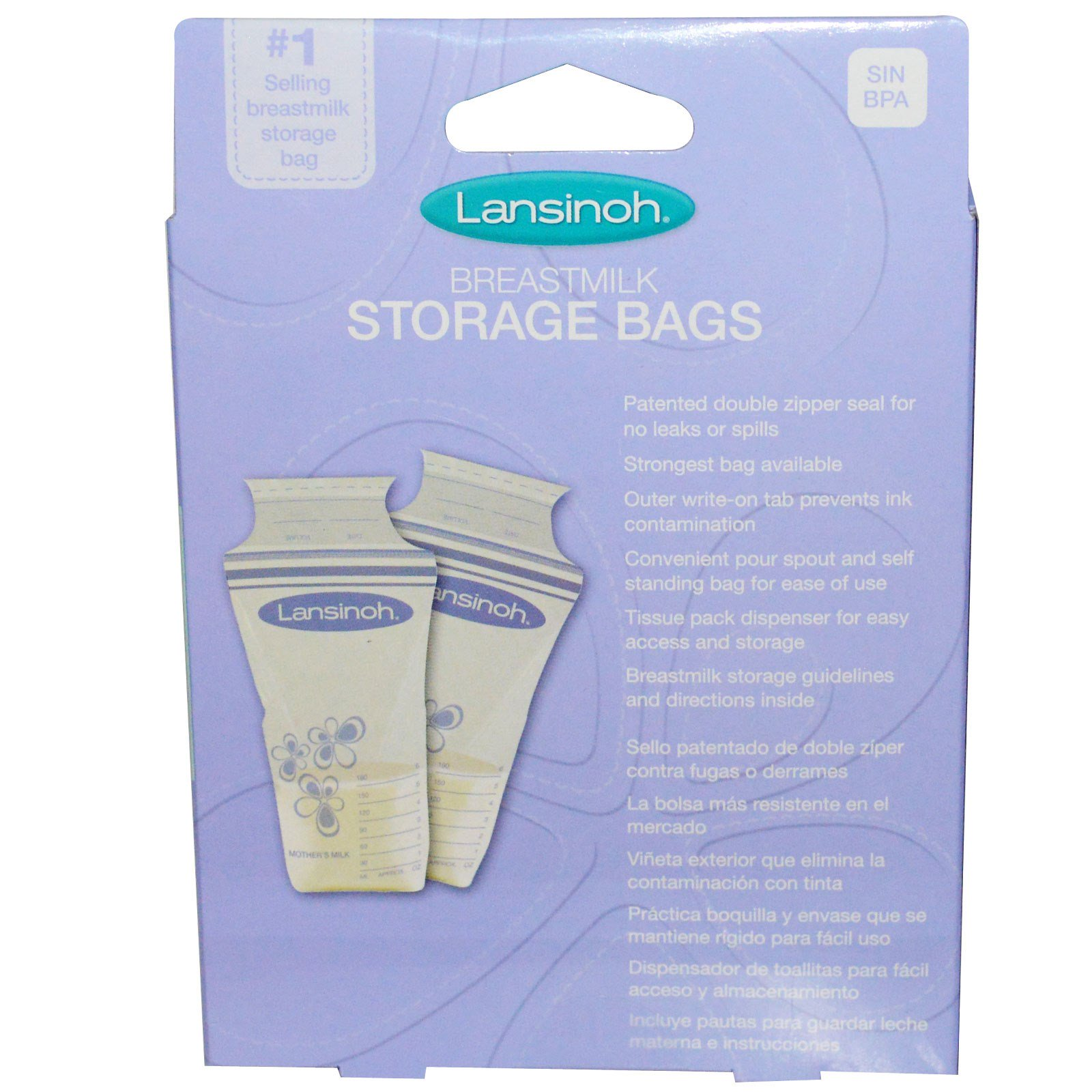 Lansinoh Tmilk Storage Bags 25 Pre Sterilized By