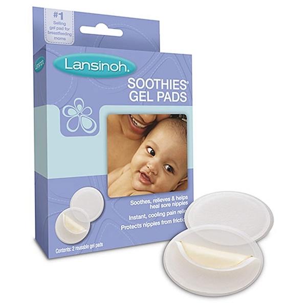 Lansinoh, Soothies Gel Pads, 2 Reusable Gel Pads
