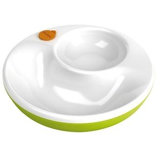Lansinoh, mOmma、保温皿、緑、1 枚、蓋 1 枚