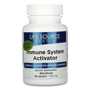 Лайф сорс Бэсикс, Immune System Activator, 500 mg, 60 Capsules отзывы