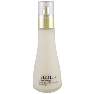Su:m37, Time Energy, Skin Resetting Softening Emulsion, 130 ml