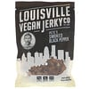 Louisville Vegan Jerky Co, Pete's Smoked Black Pepper, 3 oz (85.05 g)
