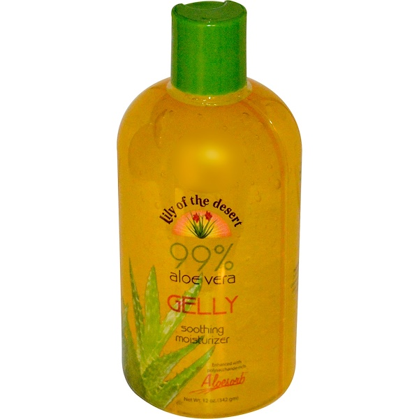 Lily of the Desert, 99% Aloe Vera Gelly, 12 oz (342 g)