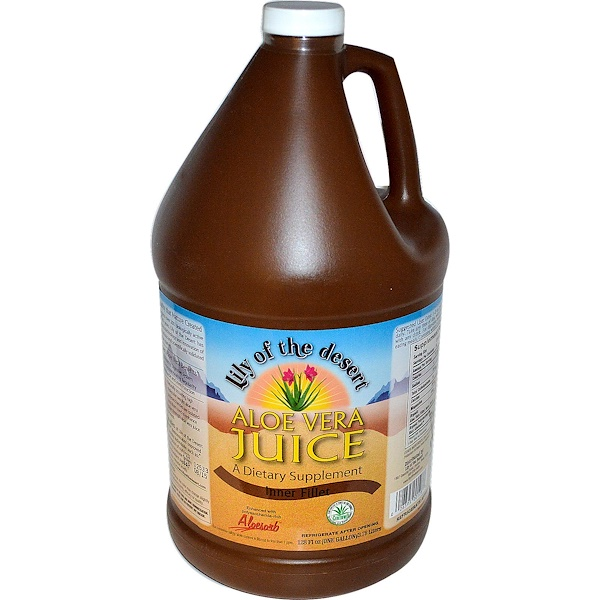 Lily of the Desert, Aloe Vera Juice, Inner Fillet, 128 fl oz  (3.78 Liters) (Discontinued Item)