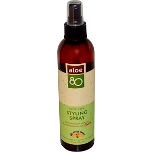 Лили оф де дезерт, Aloe 80, Aloe Vera Styling Spray, 8 fl oz (236 ml) отзывы покупателей
