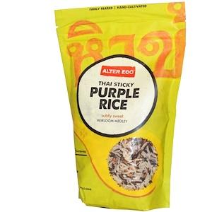 Алтер Эго, Thai Sticky Purple Rice, 16 oz (454 g) отзывы покупателей