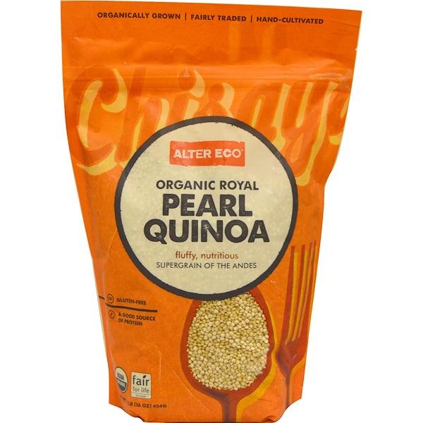 Alter Eco, Organic Royal, Pearl Quinoa, 16 oz (454 g) (Discontinued Item)