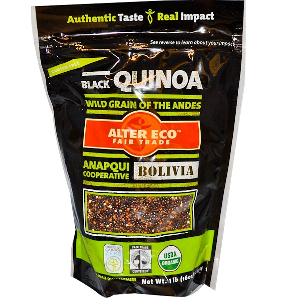 Alter Eco, Black Quinoa, 16 oz (545 g) (Discontinued Item)