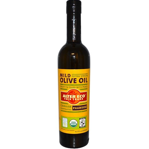 Alter Eco, Extra Virgin Mild Olive Oil, 12.7 fl oz (375 ml) (Discontinued Item)