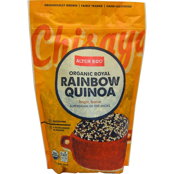 Alter Eco, Organic Royal Rainbow Quinoa, 14 oz (397 g) (Discontinued Item)