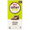 Alter Eco, Organic Chocolate Bar, Deep Dark Crisp Mint, 2.82 oz (80 g)