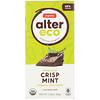 Alter Eco, Barre de chocolat bio - Chocolat noir intense et menthe croustillante, 80g