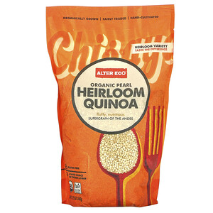 Алтер Эго, Organic Pearl Heirloom Quinoa, 12 oz (340 g) отзывы покупателей