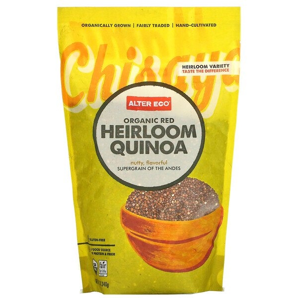 Organic Red Heirloom Quinoa, 12 oz (340 g)