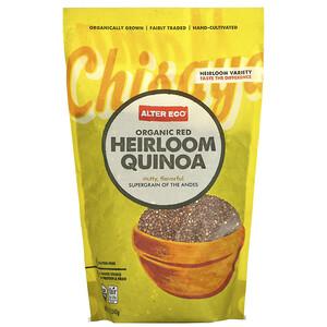 Алтер Эго, Organic Red Heirloom Quinoa, 12 oz (340 g) отзывы покупателей
