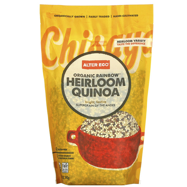 Organic Rainbow Heirloom Quinoa, 12 oz (340 g)