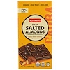 Alter Eco, Organic Chocolate, Dark Salted Almonds, 2.82 oz (80g)