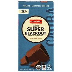 Alter Eco, Organic Chocolate, Dark Super Blackout, 2.65 oz (75 g)