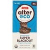 Alter Eco, Barra de Chocolate Orgânico, Super Blackout Escuro Mais Intenso, 75 g (2,65 oz)