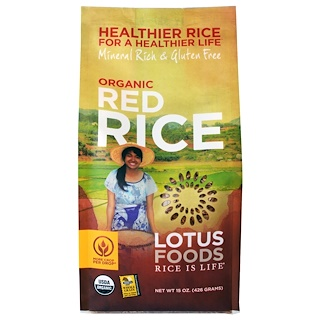 Lotus Foods, Organic Red Rice, 15 oz (426 g)