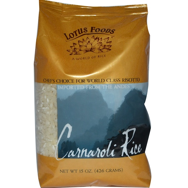 Lotus Foods, Carnaroli Rice, 15 oz (426 g) (Discontinued Item)